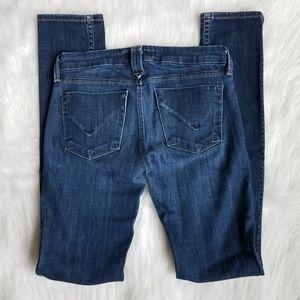 Hudson Size 24 Whiskered Skinny Jeans